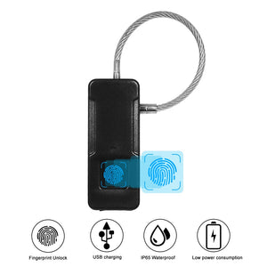Biometric Fingerprint Thumbrint Bag Lock