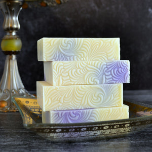Lavender Scented Soap & Candle Gift Box