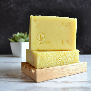 Handmade Lemon Soap | Gilded Olive Apothecary