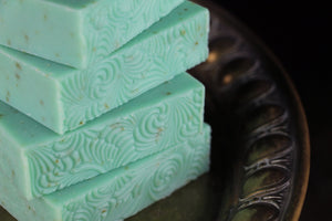 Mint Loofah Soap