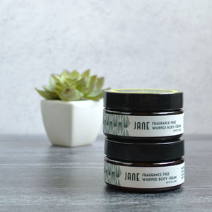 Fragrance Free Whipped Body Cream | Jane