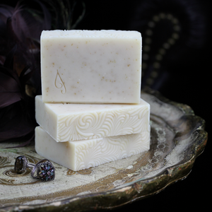 Homemade Fragrance Free Oatmeal Soap | Gilded Olive Apothecary