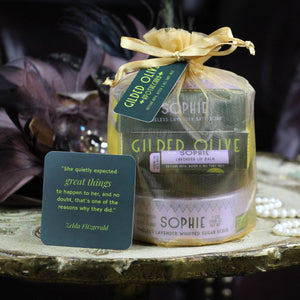 Lavender Soap & Sugar Scrub Gift Set | Gilded Olive Apothecary