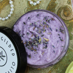 Lavender Sugar Scrub | Gilded Olive Apothecary