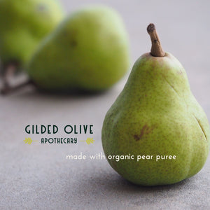 Pear Puree Soap | Gilded Olive Apothecary