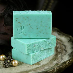 Mint Loofah Soap | Gilded Olive Apothecary
