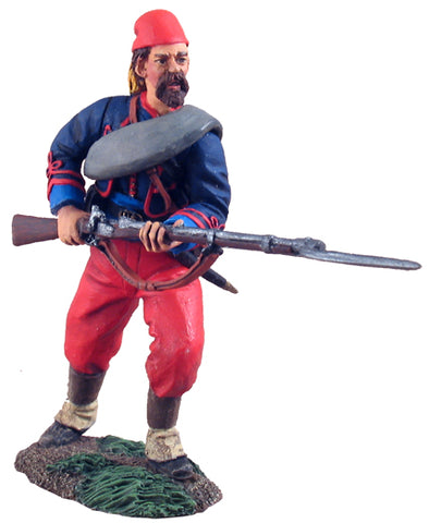 Union Infantry 114th Pennsylvania Zouaves Advancing at Ready No.1