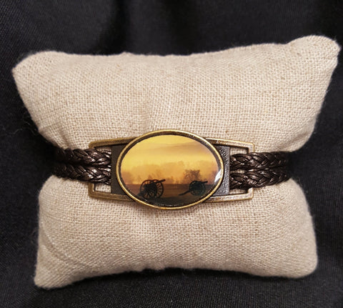 Leather Cannon Bracelet by Ciao Bella