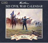 2021 Civil War Calendar