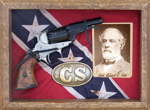 Confederate Pocket Pistol Shadow Box