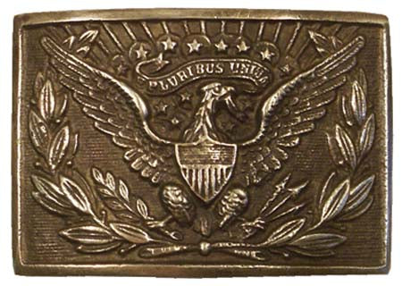 US Eagle Officers Belt Buckle