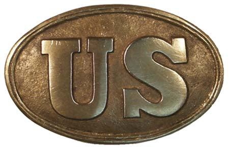US Oval Belt Buckle