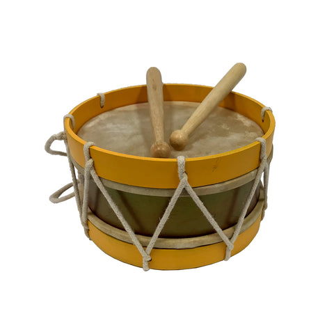 small wooden drum