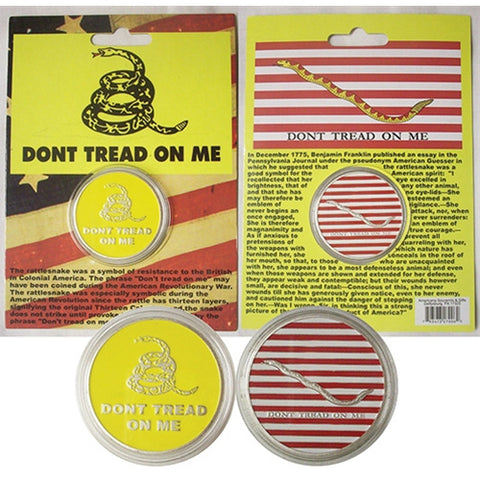 Don't Tread on Me Coin