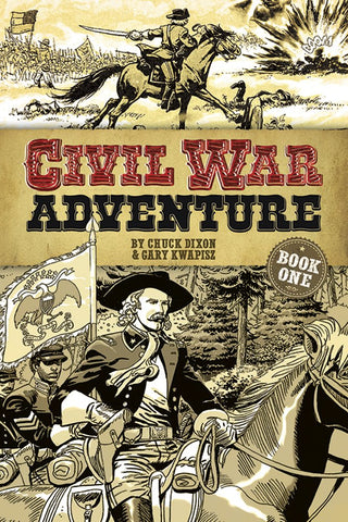 Civil War Adventure - Graphic Novel for Kids