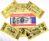 Confederate Currency Reproduction