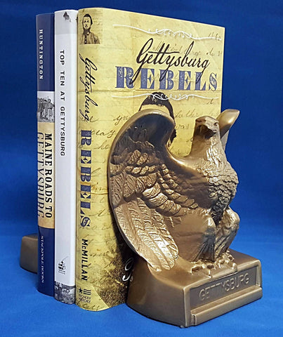 Gettysburg Eagle bookends