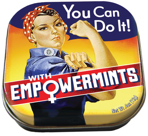 Rosie the riveter empowermints