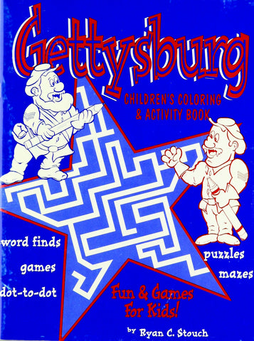 Gettysburg Children's Coloring & Activity book
