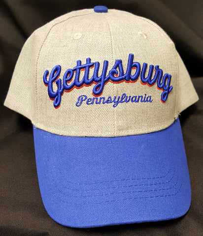Gettysburg Hat with Puff Lettering