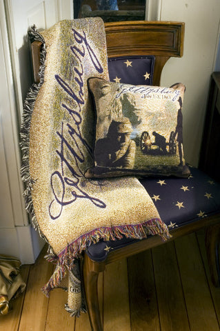 Gettysburg Tapestry Pillow or Throw
