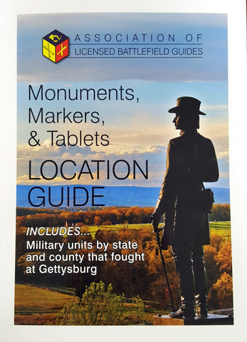 Monuments, Markers & Tablets - Location Guide