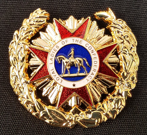 Loyal Ladies of the Confederacy Brooch
