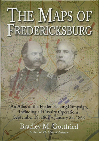 maps of fredericksburg book by gottfried