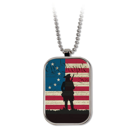 We the People - Dog Tag