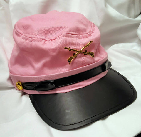 Pink Cotton Kepi