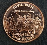 Shiloh Copper Round Coin