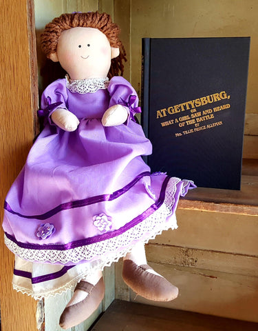 "Tillie Pierce: Doll or Book, ""At Gettysburg, What a Girl Saw and Heard of the Battle"""