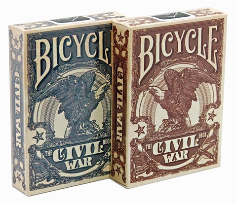 Civil War Deck Bicycle Playing Cards