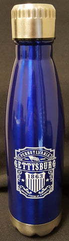 Glacier Vintage Label Screw Top Water Bottle