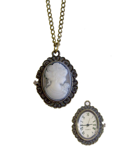 Cameo Jewelry Watch