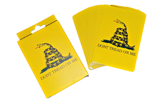 Don't Tread on Me Playing Cards