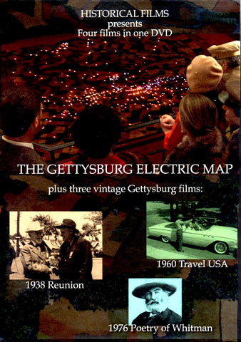 The Gettysburg Electric Map DVD