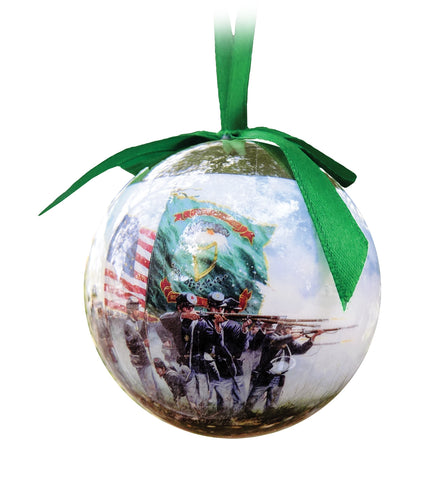 Fighting Irish Christmas Ornament