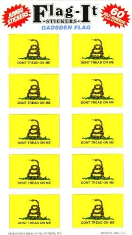 Gadsden Flag Stickers