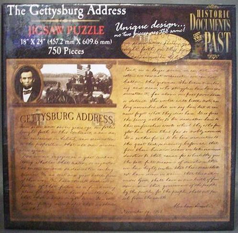 The Gettysburg Address Puzzle