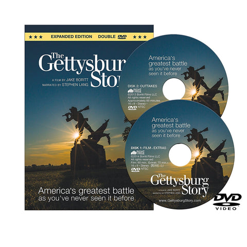 The Gettysburg Story: Expanded Edition,Double DVD.Directed by Jake Boritt