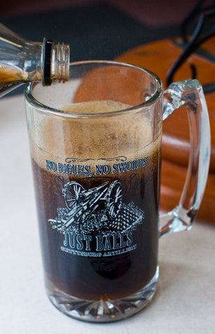 No Rifles, No Swords, Just Balls! Tankard Mug