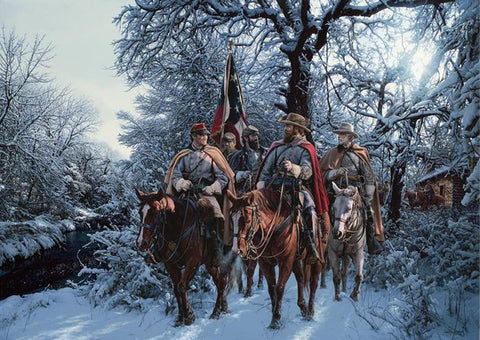 Onward Christian Soldiers - Christmas Cards