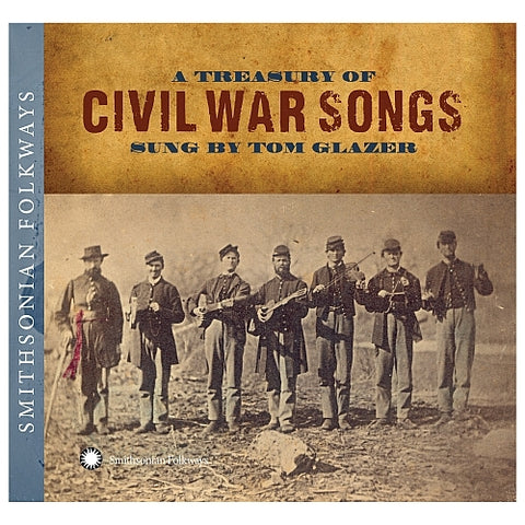 A treasury of civil war songs CD