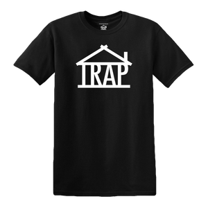 Trap House Logo T-Shirt [Black]