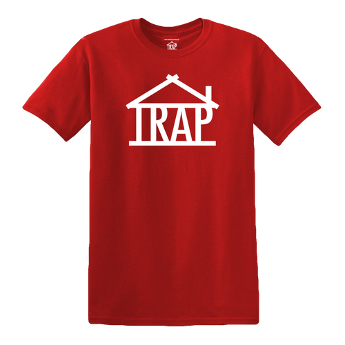 Trap House Logo T-Shirt [Red]
