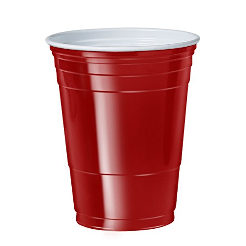 Pregame Party (Pack of 1000 Red Solo Cups)