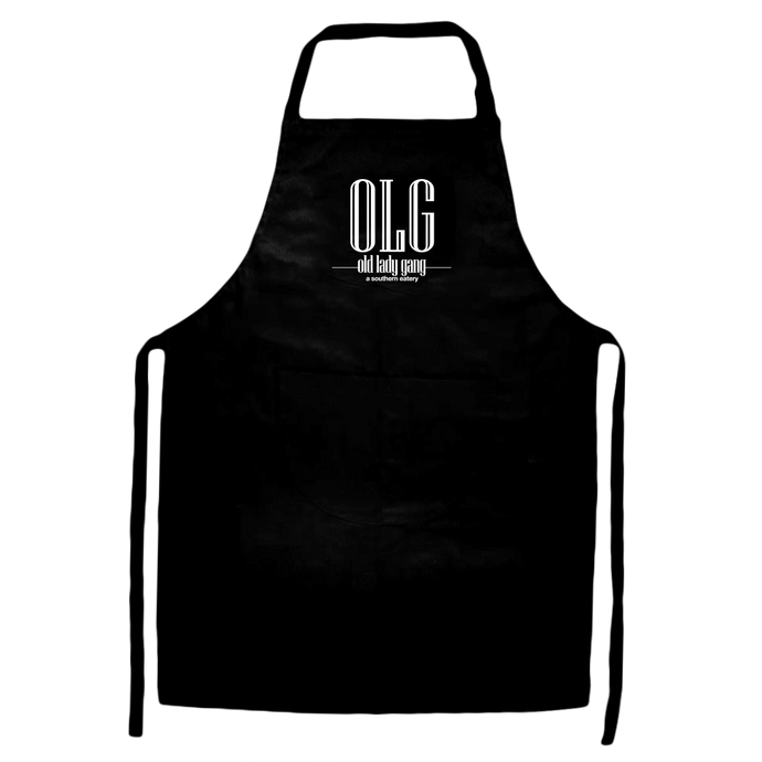 Kandi Burruss Old Lady Gang OLG Apron [Black]