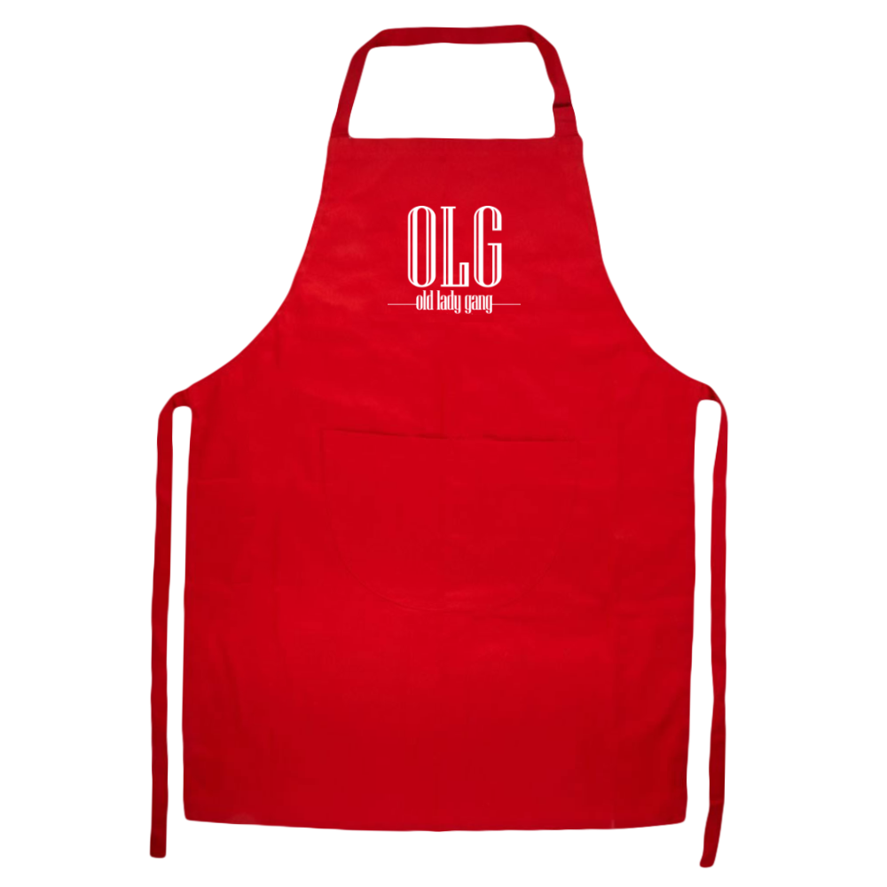 Kandi Burruss Old Lady Gang OLG Apron [Red]