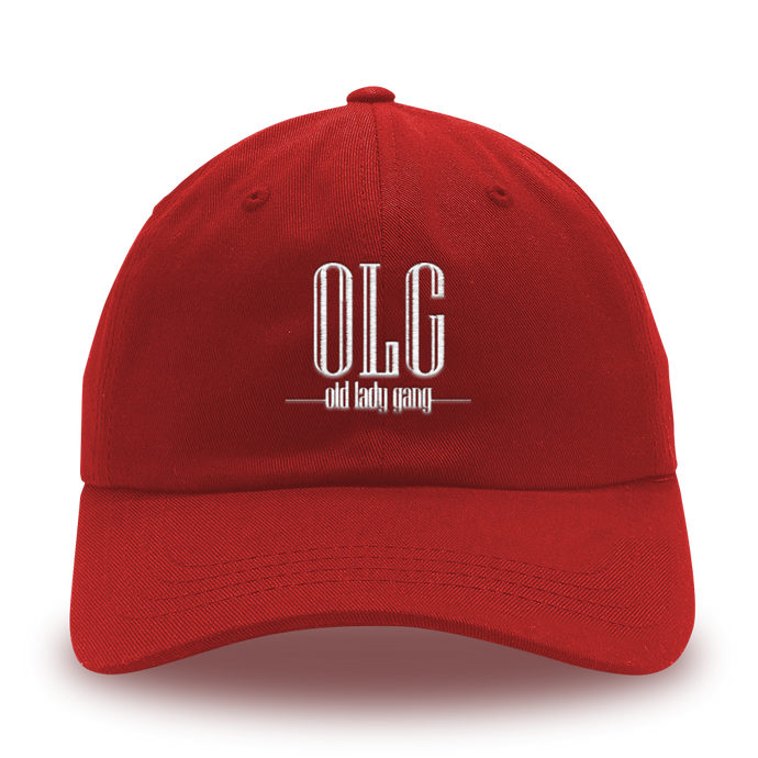 Kandi Burruss Old Lady Gang Hat [Red]